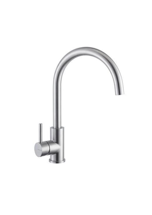 Kuechenarmatur-NF-BIONA-Warmwasser-mit-Einhebelmischer-in-runder-Form.-Aus-Edelstahl-V4A-fuer-den-Aussenbereich-geeignet.-Produkt-aus-Italien-sehr-hochwertig-verarbeitet