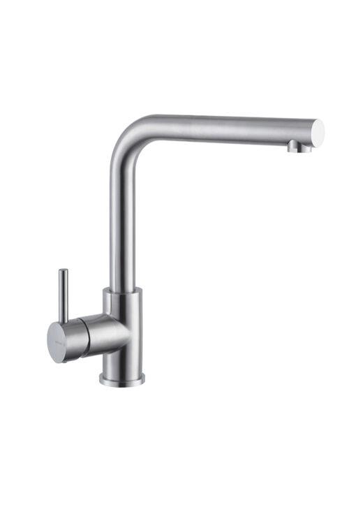 Küchenarmatur NF GEONA Warmwasser, aus Edelstahl V4A für den Außenbereich, Armatur für die Gartenküche, Newform mit Einhebelmischer.jpg