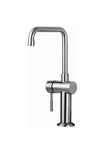 Küchenarmatur VRH Marathon1 Warmwasser in Edelstahl, für innen und außen, Spültischarmatur