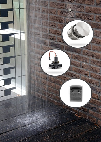 frostsichere Armatur, Magnetventil The Imber Series, Außendusche mit Frostschutz