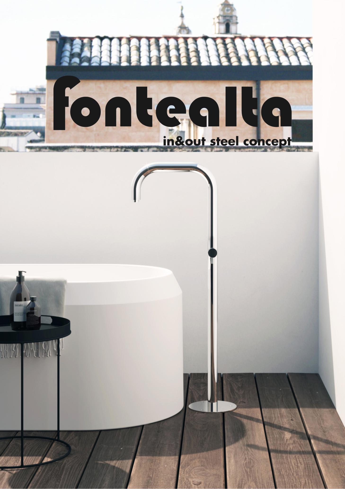 Die langjährige Erfahrung mit Verkauf von Fontealta Produkten überzeugt uns auf ganzer Linie. Geradliniges Design, hochwertige Gartenduschen und Armaturen entstehen hier in höchster Qualität. Die Außenduschen werden alle aus V4A gefertigt und halten allen Umwelteinflüssen stand.